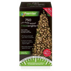 Premier Decorations 750 LED Christmas Lights With Timer - Warm White