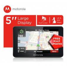 Motorola 5 Inch UK & ROI Sat Nav (No Instructions)