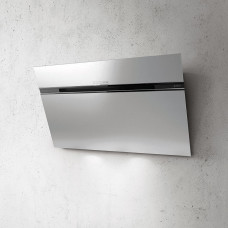 Elica Ascent LED 90cm Angled Chimney Hood - Stainless Steel