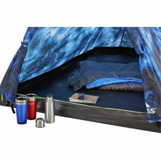 Trespass 2 Man Quick Pitch Tent - Night Sky (B Grade)