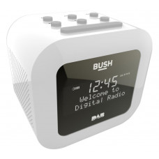 Bush DAB Alarm Clock Radio - White