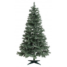Home 6ft Snowy Mixed Frost Christmas Tree - Green