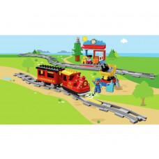 Lego 10874 Duplo Town Steam Train Toy Building Set