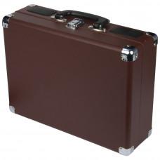 Bush Classic Portable Turntable Vinyl Record Player - Brown
