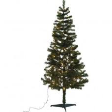 Green Christmas Tree with Lights - 6ft