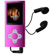 Bush 8GB MP3 with Camera & Camcorder - Pink