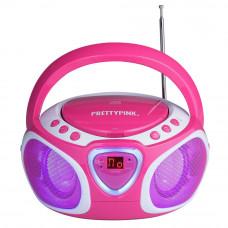 Pretty Pink CD Boombox