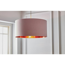 Home Oversized Metallic Shade - Copper & Pink