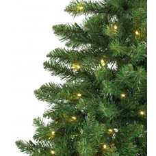 Home Green Spruce 180 Light Pre-lit Christmas Tree - 6ft.