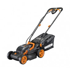 WORX Cordless 34cm Cordless Rotary Lawnmower (No Batteries & No Charger)