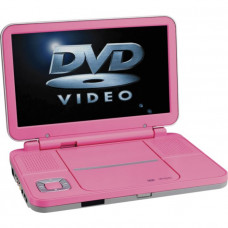 Bush BDVD8310P 10in Pink Portable Widescreen DVD Player- Unit Only