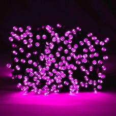 Premier Decorations 200 LED Supabrights Christmas Lights - Pink