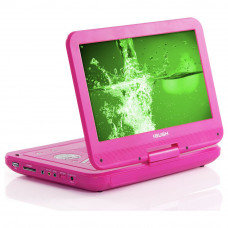 Bush 10 Inch Pink Portable DVD Player (No Remote Control)