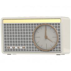 Bush Analogue Classic Clock Radio - Cream