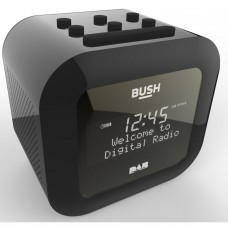 Bush DAB Alarm Clock Radio - Black