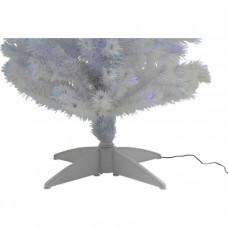 White Fibre Optic Christmas Tree - 5ft