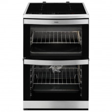 AEG 49176IW-MN Electric Cooker with Induction Hob - Stainless Steel