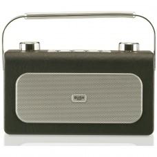 Bush Leather FM Radio - Black