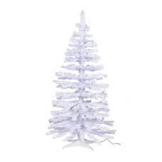 Home 5ft Fibre Optic Christmas Tree - White