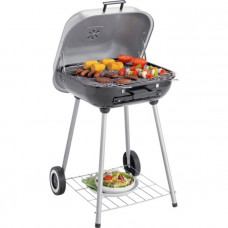 Square Smoker Charcoal BBQ (No Charcoal Grid)