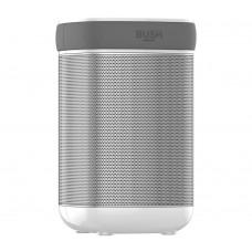 Bush Wireless Speaker With Wi-Fi - Silver/ White