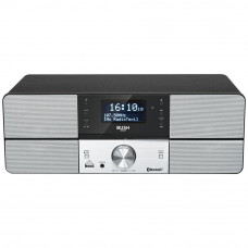 Bush Bluetooth DAB All In One Micro Hifi System (No Remote Control)