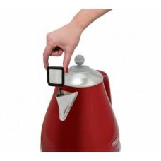 Delonghi Icona Capitals KBOC3001.R 3000w Cordless Jug Kettle - Red