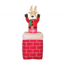 Home Inflatable Bobbing Reindeer