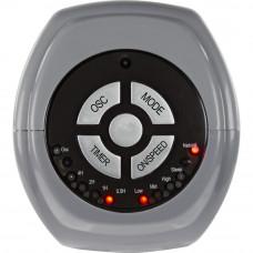 Challenge Grey Oscillating 2 Speed Tower Fan