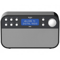 Bush DAB & FM Radio - Black (Battery Operated Only)
