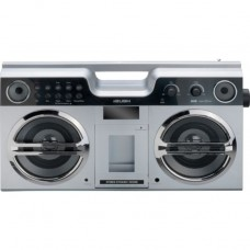 Bush Retro Boombox with Docking Station - Silver
