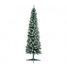 Home 6ft Snow Tipped Pencil Christmas Tree - Green
