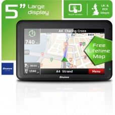 Binatone U505 5 Inch UK and ROI Sat Nav - Free Lifetime Maps !