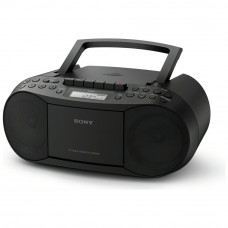 Sony CFD-S70 CD and Cassette Player With Radio - Black