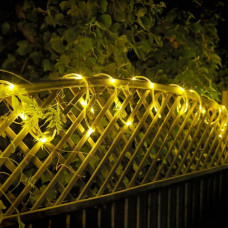 Home 8m Battery Operated Tube LED String Christmas Lights
