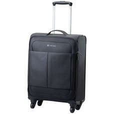 Carlton Ultralite Small 4 Wheel Soft Suitcase - Black