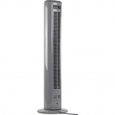 Challenge Grey Oscillating Tower Fan (No Remote Control)
