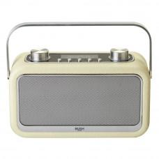 Bush Leather Look Bluetooth DAB Radio - Cream