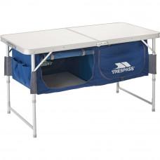 Trespass Foldable Storage Table (Slight Damage To Top)