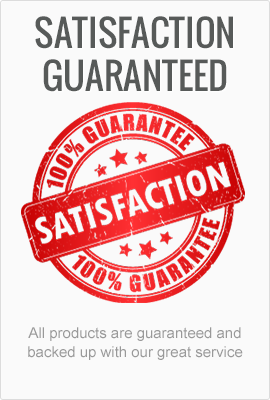 100% Guarantee on all Products
